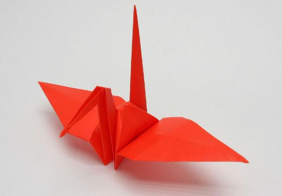 Funny , Arte dell' Origami per Creare un Carinissimo Tsuru b