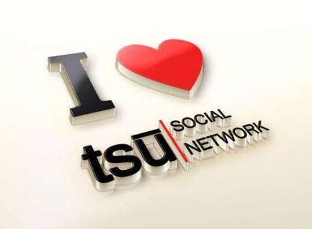 Tsu .co  [ Social Network  Chiuso ] – Guadagna Divertendoti con questo Social