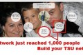 Tsu  DvdiV –  My network just reached 1,000 People