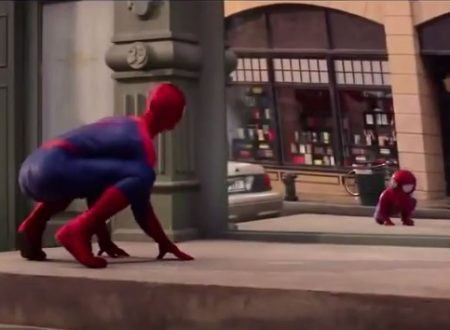 "Video  DvdiV –  Divertente ,  Spot  Incredibile di  Evian ,  "" Evian & SpiderMan """
