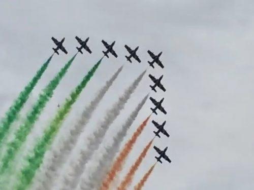 Video DvdiV – Spettacolare , Frecce Tricolori 2015 AirShow Acrobatico