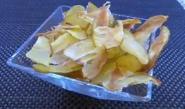 Ricetta per le Patatine Chips ( cottura al Forno , Ottime )