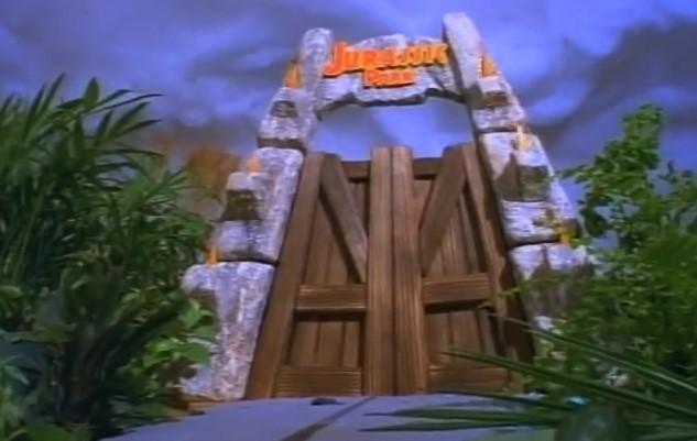 Divertenti, Video Clip di Jurassic Park