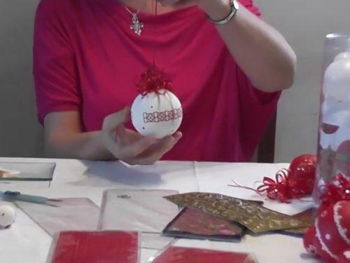 Video DvdiV – Utile , ecco come Realizzare delle Palline Natalizie