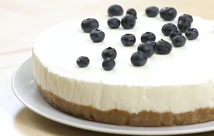Ricetta , per Preparare una Fantastica Torta Fredda allo Yogurt