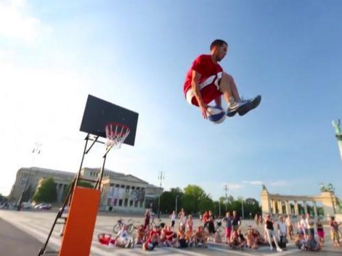 Video DvdiV – Sport , Esibizioni Acrobatiche di Basket stile Slam Dunk