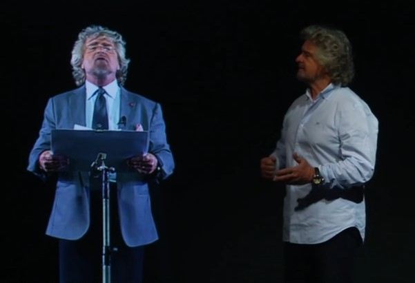 Info , Discorso di Fine Anno 2015 - Beppe Grillo