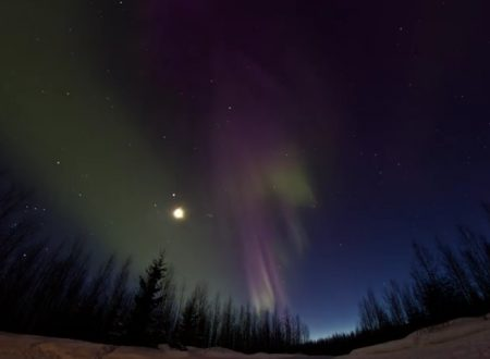 Video  DvdiV –  Spettacolare ,  Aurora Boreale  17th of March  2013