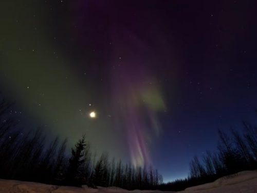 Video DvdiV – Spettacolare , Aurora Boreale 17th of March 2013