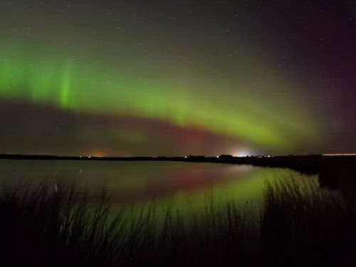 Video  DvdiV –  Spettacolare ,  Aurora  Boreale  28th of  February  2014