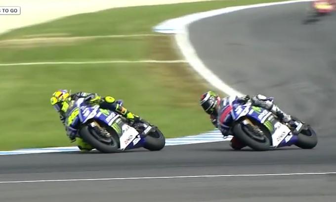 Sport , ecco la Vittoria di Valentino Rossi al MotoGP Australia