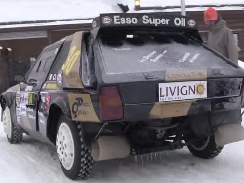 Video  DvdiV –  Technology ,  ecco la  Lancia Delta  S4  Group B  sul Ghiaccio
