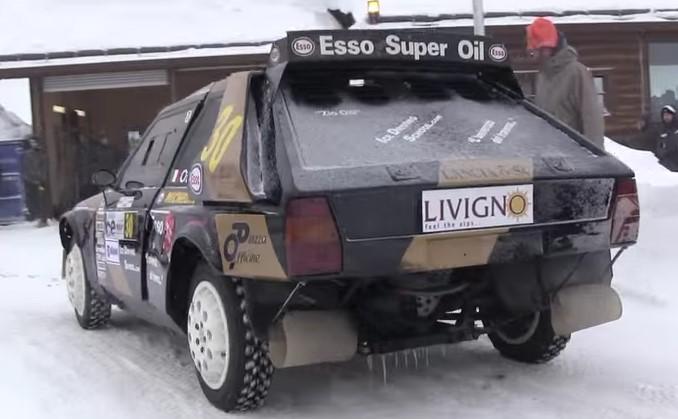 Technology , ecco la Lancia Delta S4 Group B sul Ghiaccio