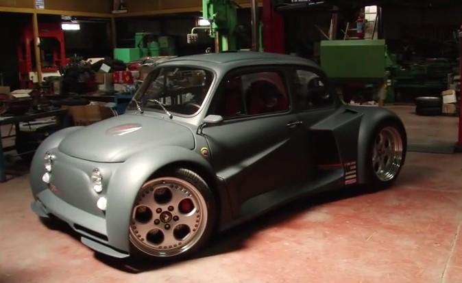 Technology , una Fiat 500 Storica con un Motore Lamborghini