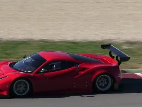 Video  DvdiV –  Technology ,  vediamo la Splendida  Ferrari  488 GT3 & GTE