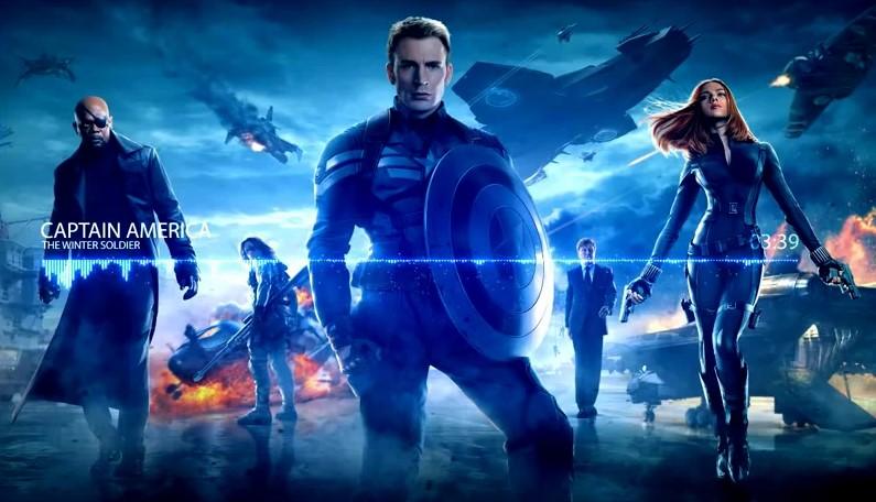 VideoClip , Captain America The Winter Soldier Main Theme