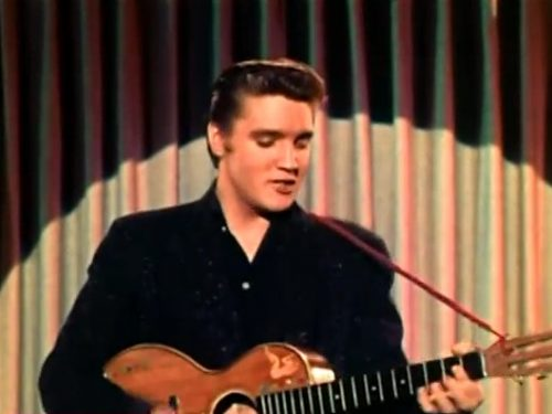 "Video DvdiV – VideoClip , l' Incredibile "" Blue Suede Shoes "" di Elvis Presley"