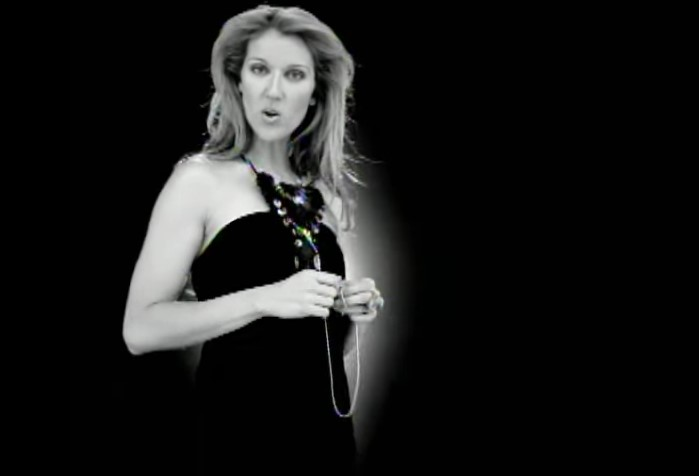 VideoClip , della Ritmica I Drove all Night di Celine Dion
