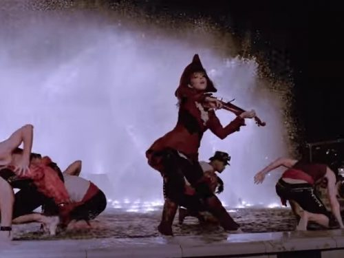 "Video  DvdiV –  VideoClip ,  un Insolito  "" Master of Tides ""  di  Lindsey Stirling"