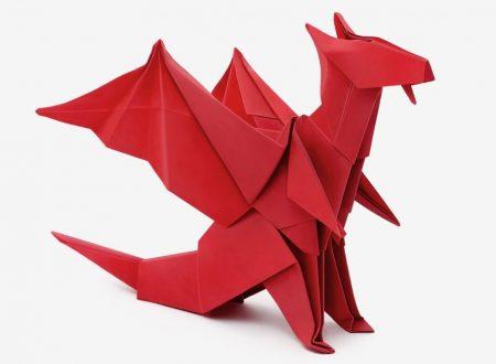 Video DvdiV – Funny , Arte dell' Origami per Creare un Fantastico Dragone