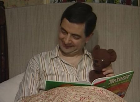 """Video DvdiV – Funny , Gag in """" Getting Ready for Bed """" con Mr. Bean"""