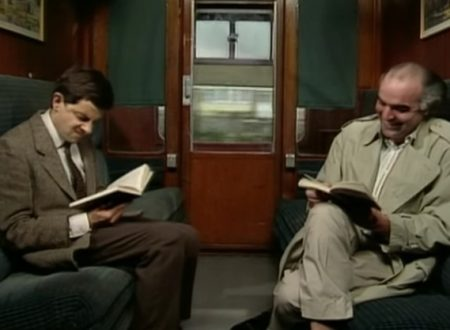 "Video  DvdiV –  Funny ,  Gag  in  "" Takes the Train ""  con  Mr. Bean"