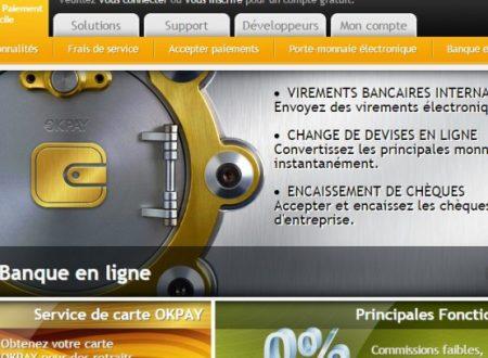 OkPay Account  [ eWallet  Pagante ] –  per Muovere Denaro OnLine