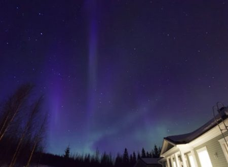 Video  DvdiV –  Spettacolare ,  Aurora  Boreale  29th of  March  2013
