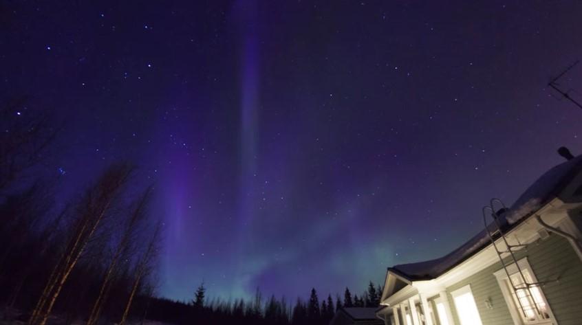 Spettacolare , Aurora Boreale 29th of March 2013