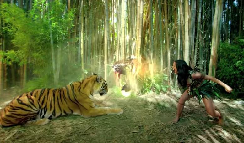 VideoClip , della Allegra Roar della Brillante Katy Perry