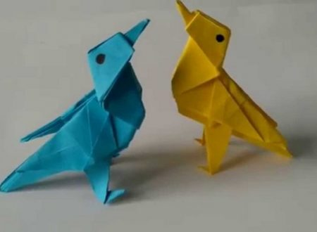 Video  DvdiV –  Funny ,  Arte  dell'  Origami  per  Creare un  Twitter Bird