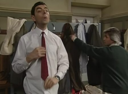 "Video  DvdiV –  Funny ,  Gag  in  "" Reclaims his Trousers ""  con  Mr. Bean"