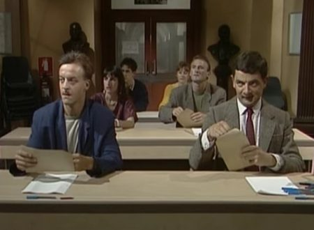 "Video  DvdiV –  Funny ,  Gag  in  "" the  Exam Cheat ""  con  Mr. Bean"
