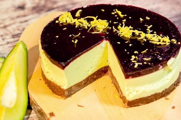 Ricetta , per Preparare una Squisita Cheesecake di Avocado