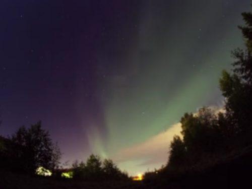 Video DvdiV – Spettacolare , Aurora Boreale 13th of February 2014
