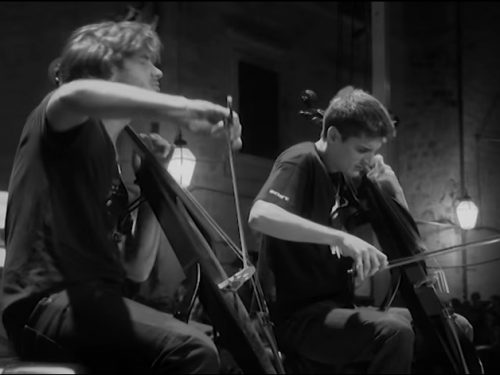 """Video DvdiV – VideoClip , Esibizione Live """" Californication """" di 2Cellos"""