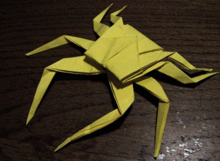 Video  DvdiV –  Funny ,  Arte  dell'  Origami  per  Creare un  Spider Crab