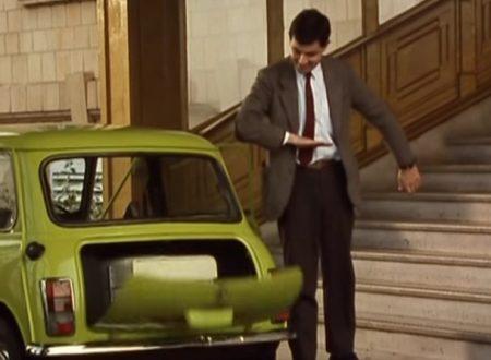 "Video DvdiV – Funny , Gag in "" Checking In "" con Mr. Bean"