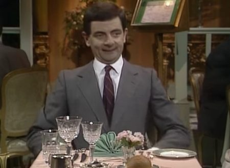"Video  DvdiV –  Funny ,  Gag  in  "" the  Restaurant ""  con  Mr. Bean"