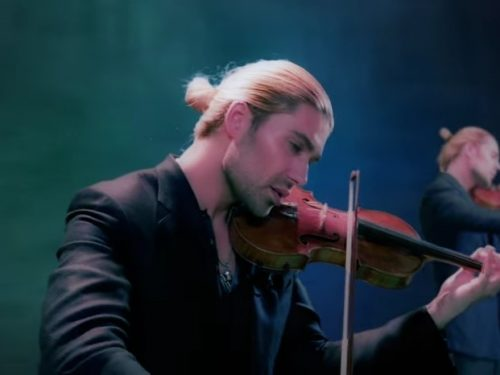 """Video DvdiV – VideoClip , della Cover """" Viva la Vida """" di David Garrett"""