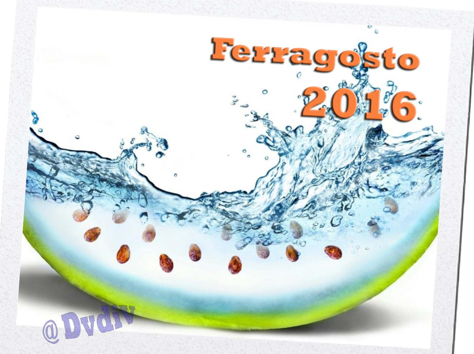 Auguri per un FELICE e Sereno FERRAGOSTO !! b