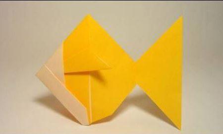Video DvdiV – Funny , Arte dell' Origami per Creare un Brillante GoldFish