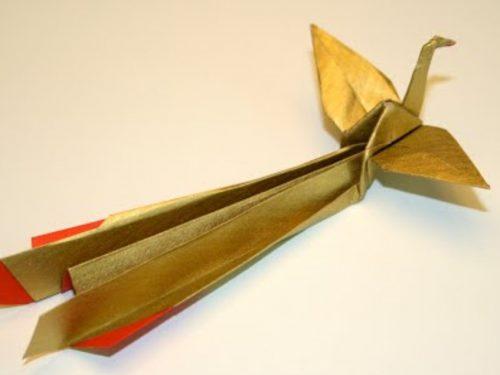 """Video DvdiV – Funny , Arte dell' Origami per Creare un Houou """" Phoenix """""""