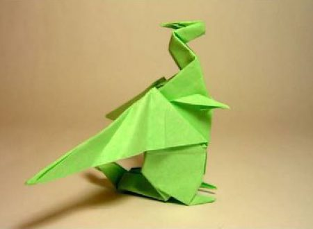 Video  DvdiV –  Funny ,  Arte  dell'  Origami  per  Creare un  Fantastico  Dragone