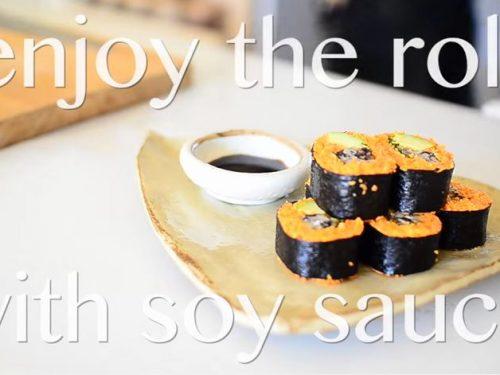 Video DvdiV – Ricetta Vegan , per Preparare degli Ottimi Tempeh Sushi Roll