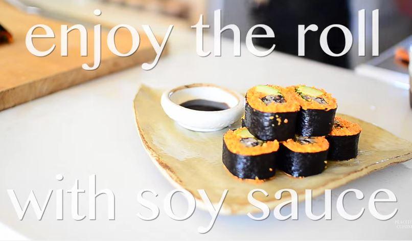 Ricetta Vegan , per Preparare degli Ottimi Tempeh Sushi Roll