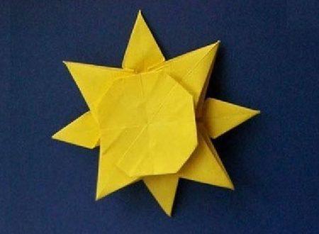 Video DvdiV – Funny , Arte dell' Origami per Creare un Simpatico Sole