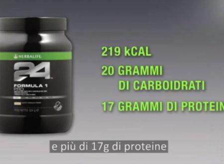 Video DvdiV – Prodotto , HerbaLife Linea 24 – Formula 1 Pro per Sportivi