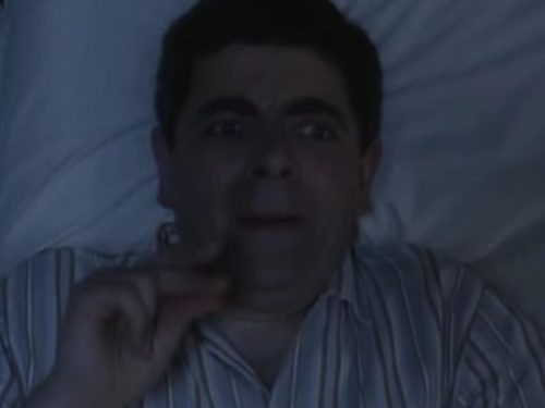 "Video  DvdiV –  Funny ,  Gag  in  "" Counting Sheep ""  con il  Fantastico  Mr. Bean"