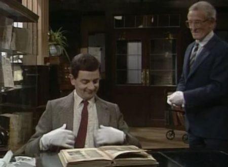 """Video DvdiV – Funny , Gag in """" Library Destruction  """" con il Fantastico Mr. Bean"""